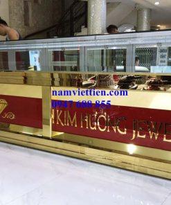 Tủ trưng bày vàng bạc đá quý cao cấp