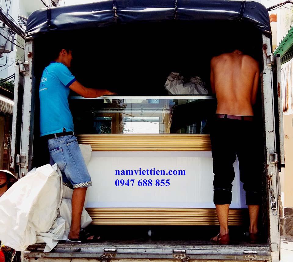 Xưởng sản xuất tủ bán vàng nhôm kính