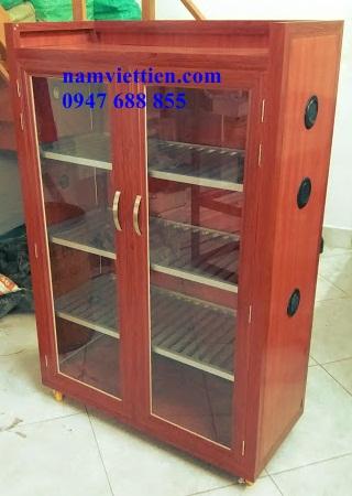 20181003 170252 - Mẫu tủ chén đĩa nhôm kính giá rẻ