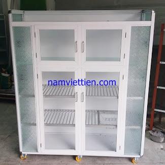 20190113 153515 - Mẫu tủ đựng chén màu trắng sữa