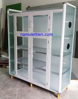 20190113 153917 - Mẫu tủ đựng chén màu trắng sữa