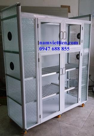 20190113 153954 - Mẫu tủ đựng chén màu trắng sữa