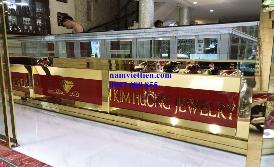 Tủ bán vàng bạc cao cấp