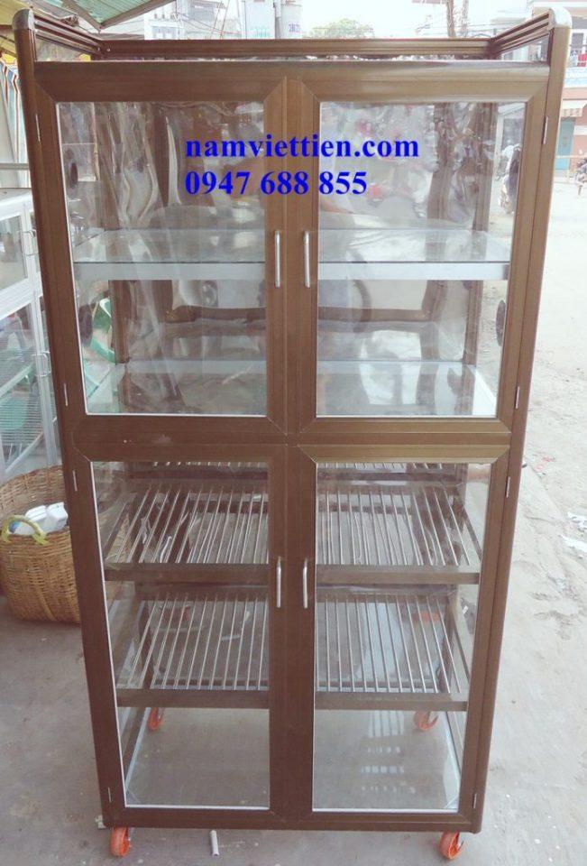 DSC01721 - Tủ chén nhôm kính giá rẻ