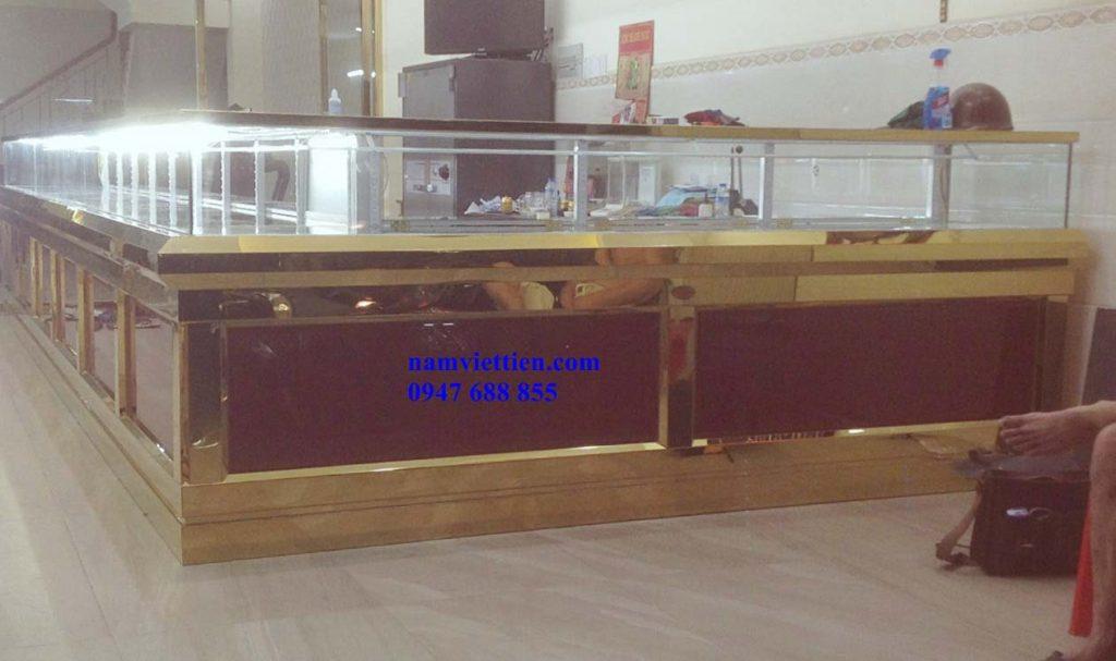 Mẫu tủ bán vàng bạc giá rẻ