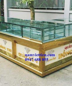 Tủ trưng bày vàng bạc cao cấp