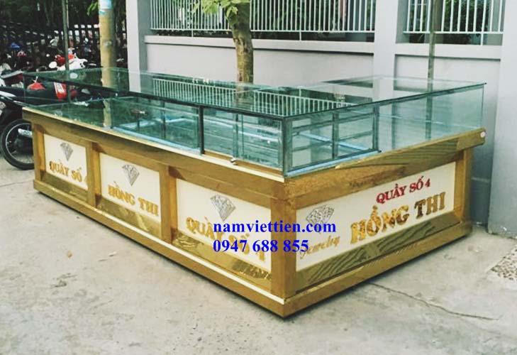 Tủ trưng bày vàng bạc cao cấp bán tại TPHCM