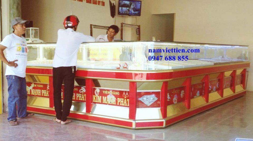 TU VANG 10 - Tủ bán vàng bạc cao cấp