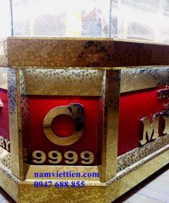 Nơi sản xuất tủ bán vàng đẹp giá rẻ
