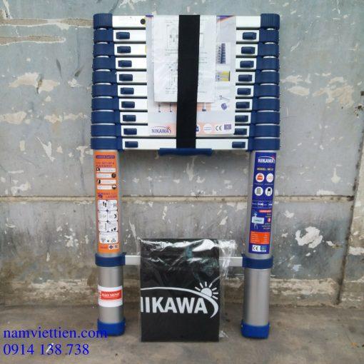 thang nhom nikawa thang ly hcm 510x510 - Thang nhôm rút đơn Nikawa NK-48