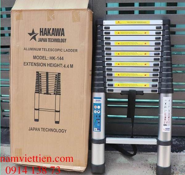 thang nhom rut doi hakawa can tho - Thang nhôm rút đơn Hakawa HK-144 nhập khẩu Janpan