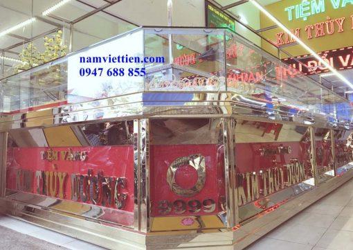 Tủ bán vàng bạc đá quý cao cấp