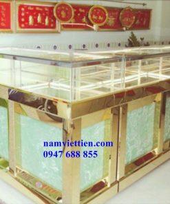 Mẫu tủ bán vàng bạc đá quý đẹp