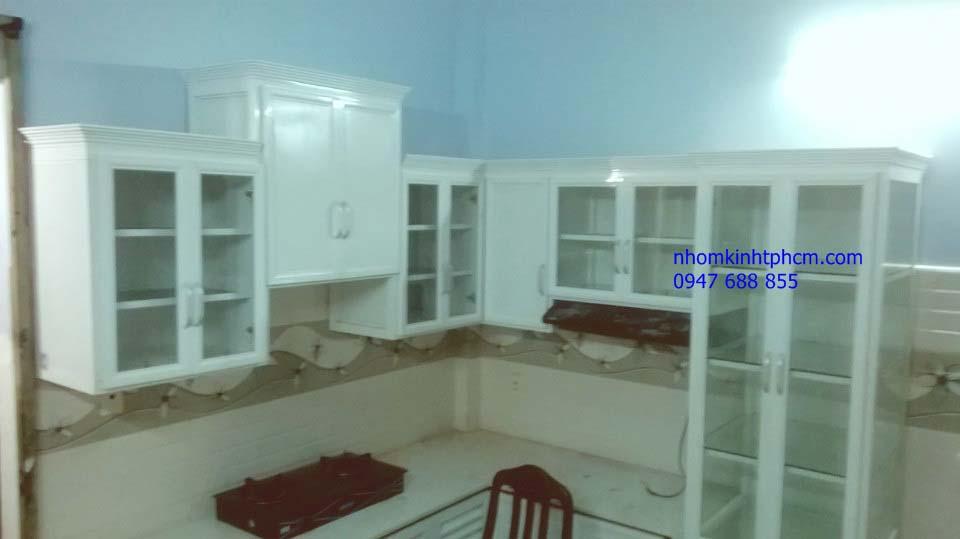 0318fa5312f56ce47382232877d2c7a2 - Tủ bếp nhôm kính giá rẻ TPHCM