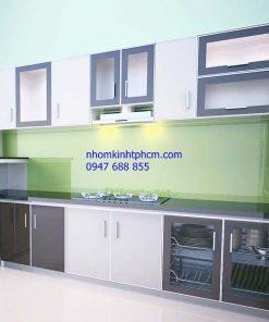 Tủ bếp nhôm kính giá rẻ quận 4 tphcm