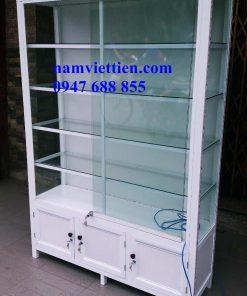 Tủ mỹ phẩm bằng nhôm kính