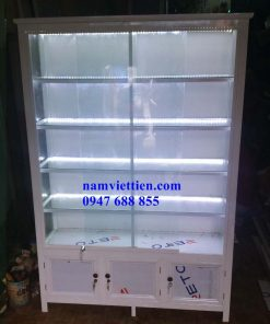 Mẫu tủ bán mỹ phẩm nước hoa