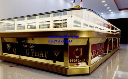 Tủ trưng bày bán vàng giá rẻ