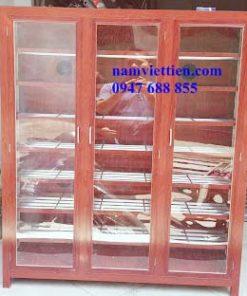Tủ kiếng nhôm mỹ phẩm