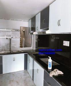 Báo giá tủ bếp nhôm kính 2019